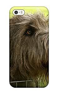 Andrew Cardin's Shop Best Protective Case For Iphone 5/5s(irish Wolfhound Puppies)
