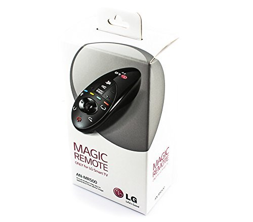 Brand NEW LG Magic TV Remote Control AN-MR500 For 2014 Series Smart Tv with Browser Wheel For Easy Web Site Search. With the ingeniously inventive LG AN-MR500 Magic Remote Control you'll be able to use your voice, gestures and point and scroll methods to