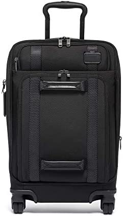 TUMI – Merge International Front Lid 4 Wheeled Carry-On Luggage – 22 Inch Rolling Suitcase for Men and Women – Black
