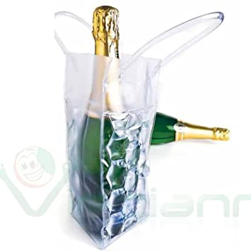 Bolsa térmica líquido refrigerante para botella cerveza vino champán Cava
