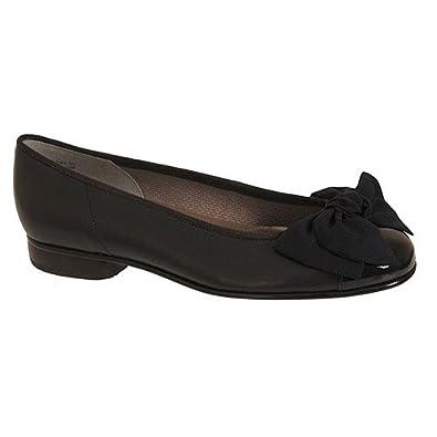 Gabor Amy Ballerines Femme 36 Navy Leather 39 6 5 Uk Amazon