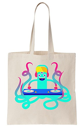 Octopus Tote A Bag Colorful Canvas DJ 5Pxwz60