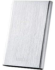 $22 » External Hard Drive, 1TB 2TB Portable Hard Drive External Type-C USB 3.0 for PC, Laptop and Mac(1TB Silver)