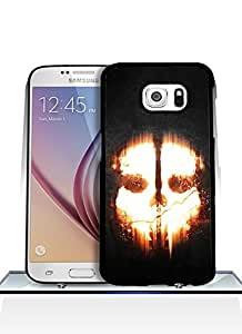 Personalized Design - Call Of Duty Ghosts Logo Anti - Slip For Samsung Galaxy S6 Funda Case Cover Hard Plastic Protection Suitable For Everyone