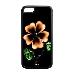 Pop Four Leaf Clover lucky clover Iphone 5C TPU case