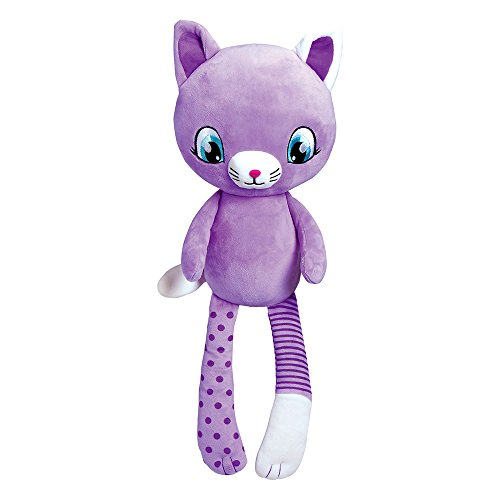 Adora Zippity Hug N Hide Whispurr the Cat Kitty 21.5 Cuddly Soft Snuggle Play Doll Toy Gift with Mini Pocket for Children 3+