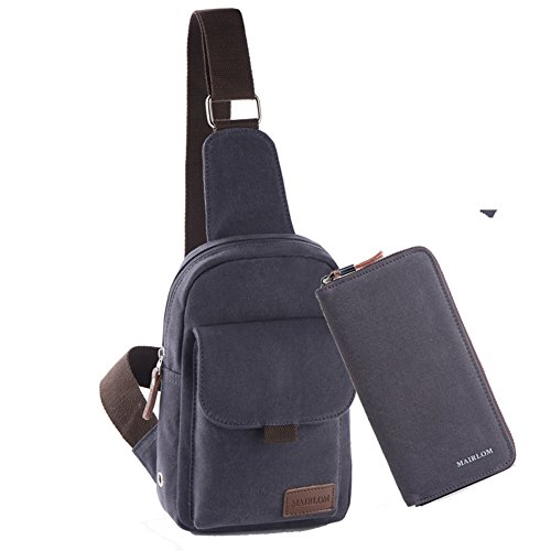 Outdoor E Bag Canvas Chest H Wallet Men Shoulder Casual Bag Messager Package Messenger Cycling Bag W7OqznC4