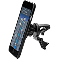 Arkon Magnetic Phone Car Vent Mount for iPhone X 8 7 6S Plus 8 7 6S Galaxy Note 8 and Garmin GPS Retail Black