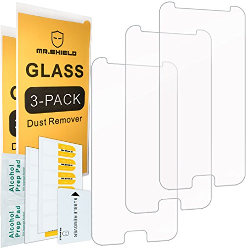 [3-PACK]- Mr Shield For Asus ZenFone V (Verizon) [Tempered Glass] Screen Protector [0.3mm Ultra Thin 9H Hardness 2.5D Round Edge] with Lifetime Replacement Warranty