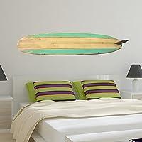 V & C Designs Ltd groß grün Surfbrett Sports Vinyl-Wandtattoo Aufkleber Art...