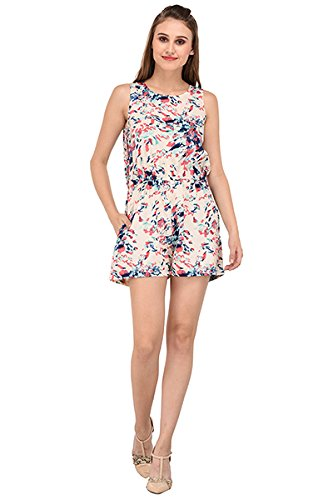 8fb299f7f1 Purys Printed Jumpsuit  Amazon.in  Clothing   Accessories