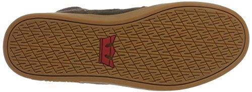 Supra Bandit, Sneaker a collo alto Uomo Marrone (Braun (Brown - Gum 262))