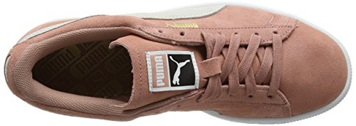 Sneakers Puma cameo Basses Brown white Suede Femme Marron Classic YrYE6np
