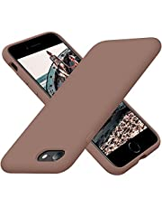 Cordking iPhone SE 2020 Case, iPhone 7 8 Case, Silicone Ultra Slim Shockproof Phone Case with [Soft Microfiber Lining], 4.7 inch