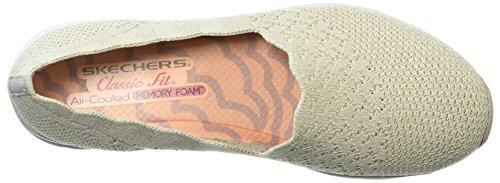 Skechers Kvinder, Seager Stat Loafers Naturlige