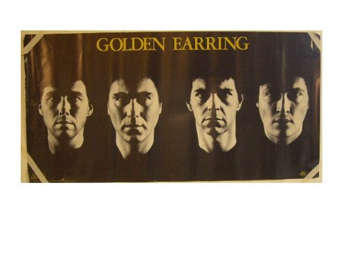 (Golden Earring Band Face Shot In A Line Poster)