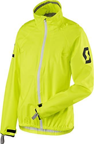 Scott Ergonomic Pro DP Damen Motorrad/Fahrrad Regenjacke gelb 2022