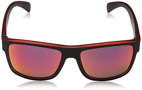 Uvex 530876 Lunettes de soleil Noir Mat/Rouge TzMEIhHYP