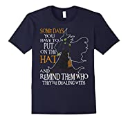 Halloween Witch Shirt - Some day you have to put on the Hat