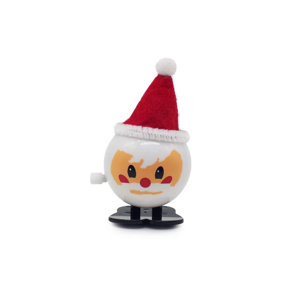 Fun Wind-Up Jumping Santa Claus Children/'s Christmast Stocking Stuffer