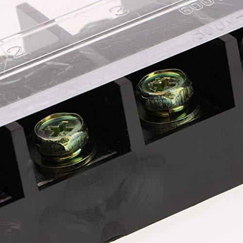 (nouler Juler 1 Piece 100A / 600V Terminal Block Connector Plate Crimp Connection Connection Connecting Rod)