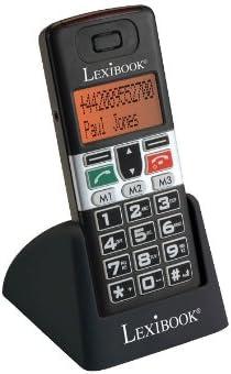 LEXIBOOK - Senior Mobile MP100 - Teléfono Fijo inalámbrico con Teclas Grandes [Importado de Francia]: Amazon.es: Juguetes y juegos
