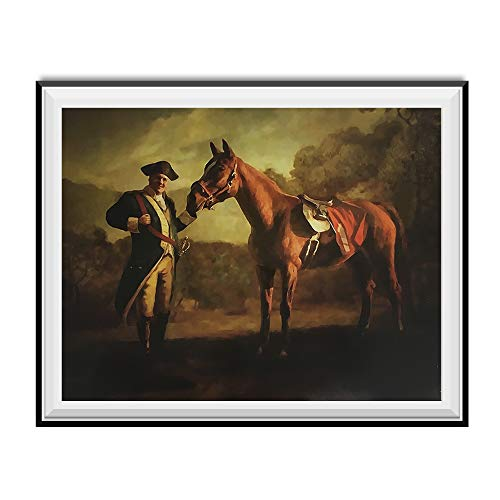My Party Shirt Napoleon Tony Soprano And Pie-O-My Horse Painting Poster The Sopranos Race 18x24
