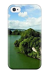 Hot Design Premium IXhfSFC5691RLywR Tpu Case Cover Iphone 4/4s Protection Case(island)