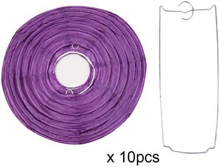 Lampadario Di Carta Velina : Delicacydex 10pcs 8 10 pollici lanterne di carta cinesi colorate