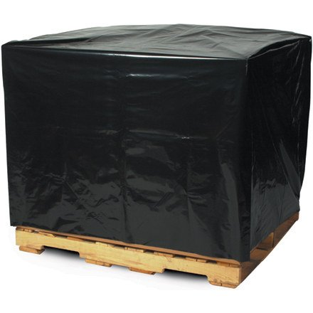 Black Pallet Covers - 48X36x72