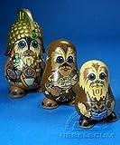 : Star Wars Chubbies Series 1 Wookiee Nesting Dolls