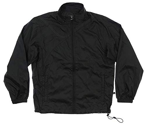 Sun Mountain New Mens Provisional Golf Rain Jacket Small S Black T21019
