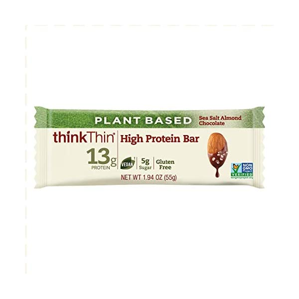 Plant-Based High Protein Bars by thinkThin
