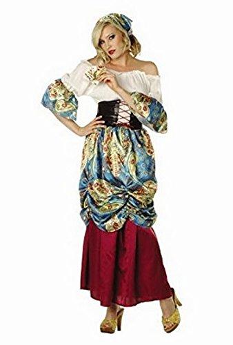 Esmeralda Gypsy Adult Costume Size Medium (Adult Esmeralda Costume)