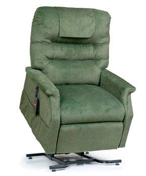 - Golden Technologies PR-355M Monarch Lift Chair - Size Medium - Color Chestnut (Dark Brown)