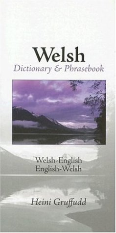 Welsh-English / English-Welsh Dictionary & Phrasebook (Hippocrene Dictionary & Phrasebooks) (Welsh and English Edition)