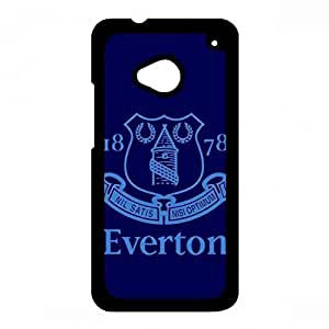 Everton Football Club Logo Phone Funda,Everton Football Club Phone Skin For Htc One M7,Htc One M7 Funda,Chelsea Logo Phone Funda