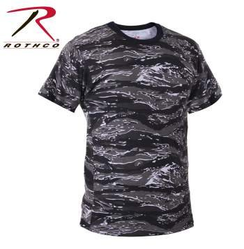 Rothco T-Shirt, Urban Tiger Camo, Large ()