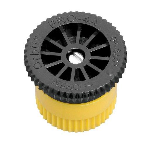 - 20 Pack - Orbit 4 Foot Radius Female Thread Adjustable Pop-Up or Shrub Sprinkler Head Nozzle