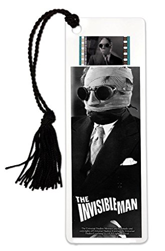 FilmCells The Invisible Man (1933) Claude Rains Bookmark with Tassel and Real 35mm Film Clip