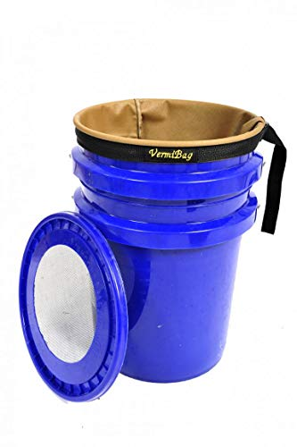 VermiBucket (VermiBag Composting Systems Convert Your 5