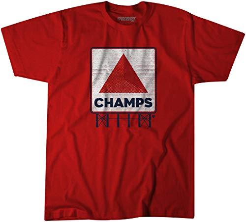 Breaking 10292018-B Boston Champs Commemorative T Shirt, Red, XX-Large, ()