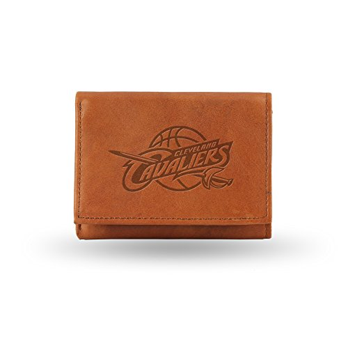 NBA Cleveland Cavaliers Embossed Genuine Leather Trifold Wallet