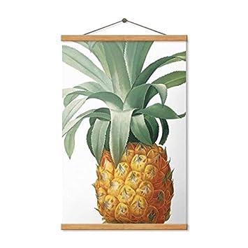 Cartel de plátano minimalista nórdico, cartel de fruta de ...