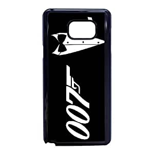 Personalized Durable Cases Samsung Galaxy Note 5 Cell Phone Case Black 007 James Bond Usrpx Protection Cover