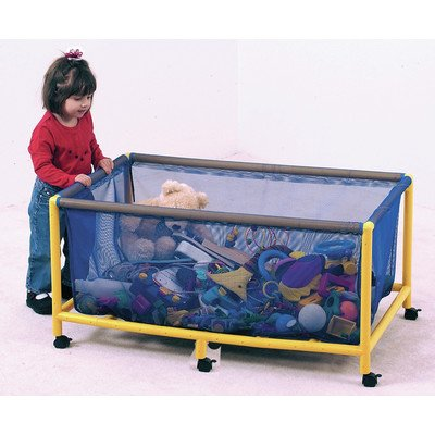 Children's Factory Rectangle Mobile Equipment Toy Box by Children's Factory
