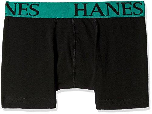 Hanes Men's Cotton Trunks (8907259611655_P111-615-PL Jet Black S)