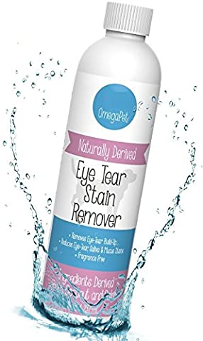 TEAR STAIN REMOVER for White Dogs - The Fastest Remedy To Unsightly Tear Stains - Best Tear Stain Supplement for White Dogs - Lavender Formula for Dogs and (Dog Conditioner For Poodles)