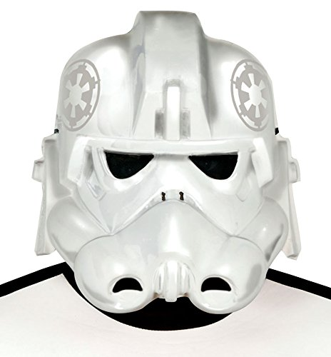 Guirca - Star space soldier mask, one size, white (2032) ()