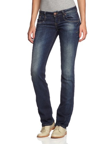 LTB Jeans Women's 50201/Valentine Straight Leg Jeans Blue - Blau (Mambo Wash 2478)